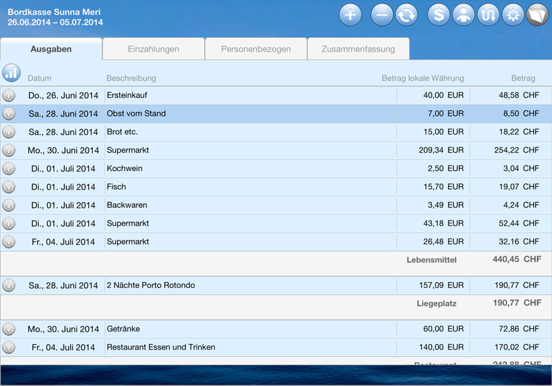 Logbook Suite Add-on BoardCash
